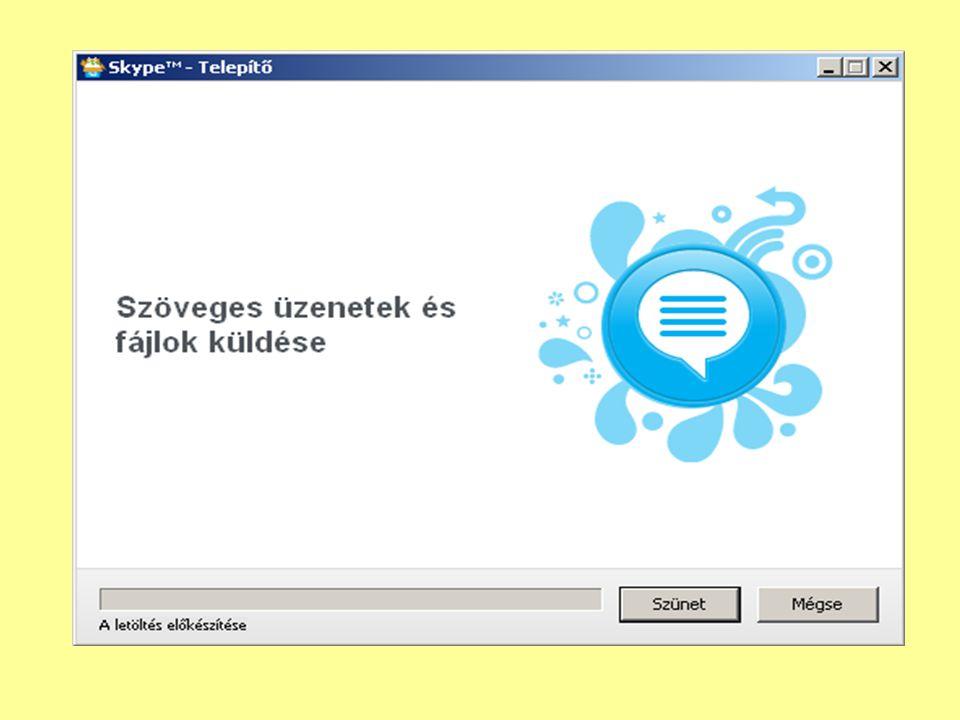3.lépés: Válasszuk ki a listából a kereset Skype felhasználót és kattintsunk Skype- partner felvétele gombra