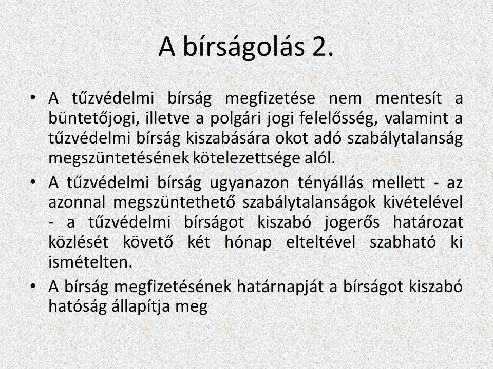 A bírságolás 2.