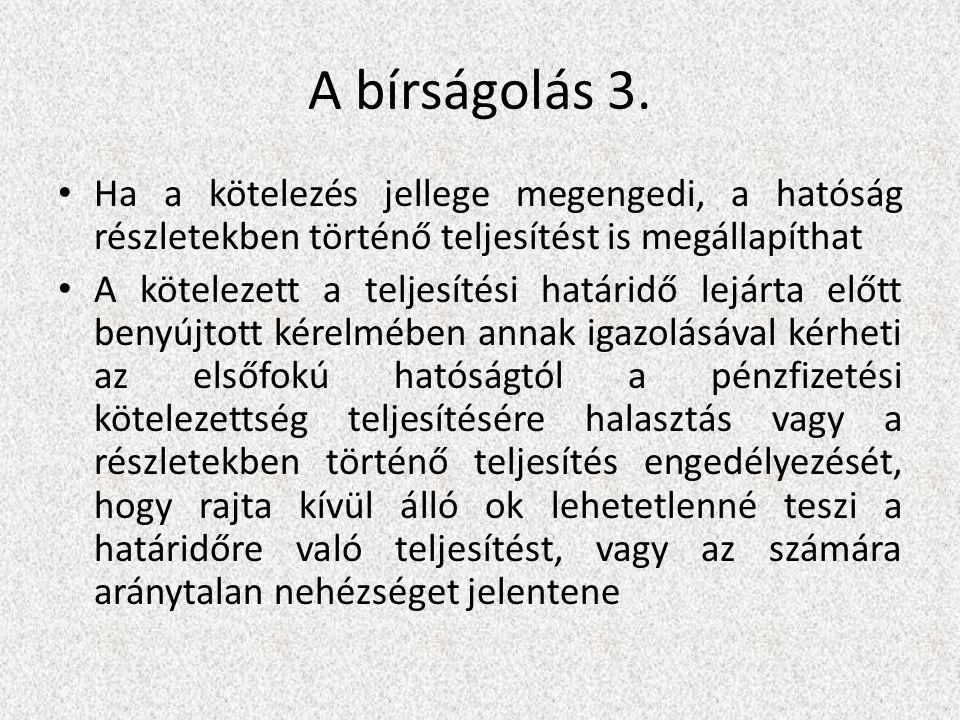 A bírságolás 3.