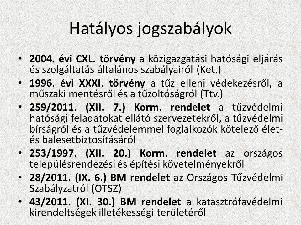 Hatályos jogszabályok • 2004.évi CXL.