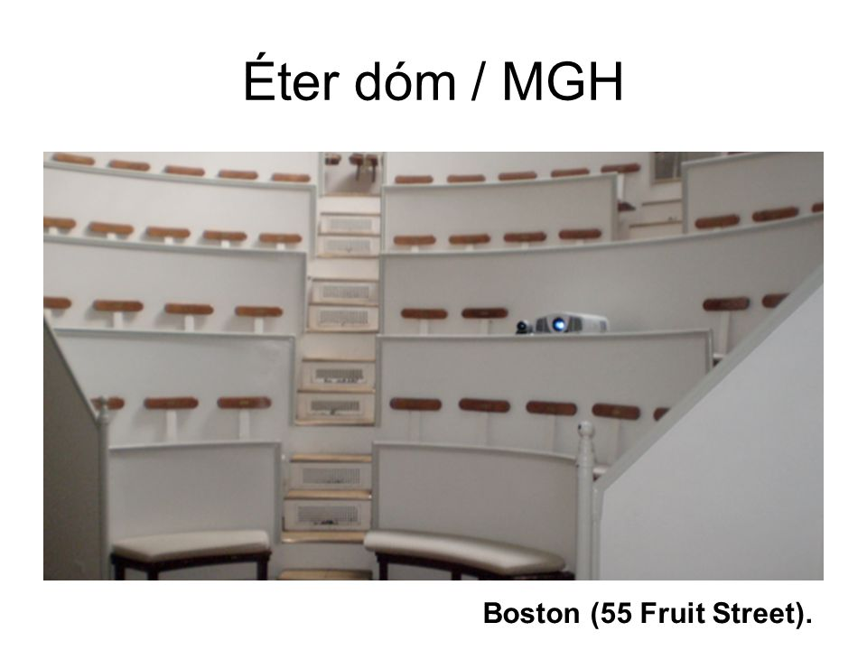 Éter dóm / MGH Boston (55 Fruit Street).