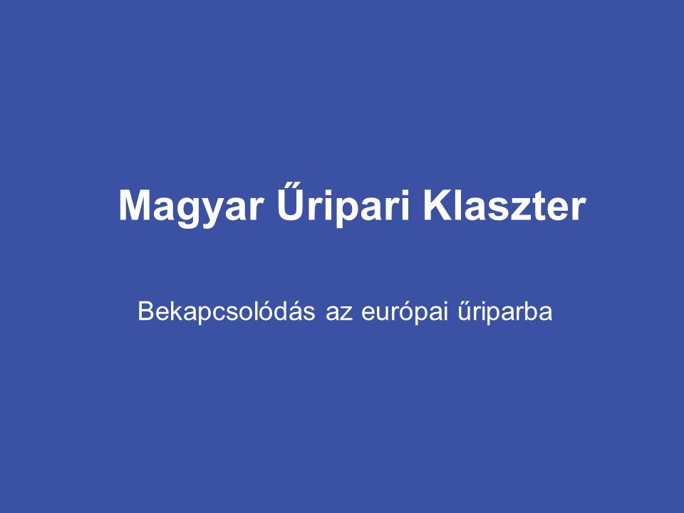 Bekapcsolódás az európai űriparba Magyar Űripari Klaszter
