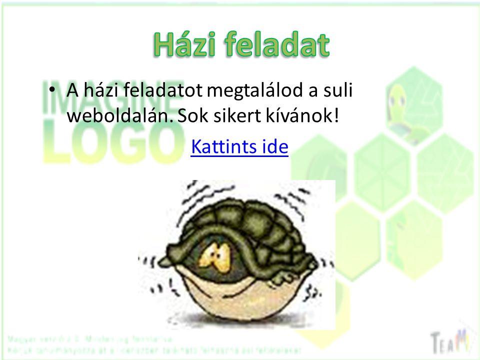 • A házi feladatot megtalálod a suli weboldalán. Sok sikert kívánok! Kattints ide