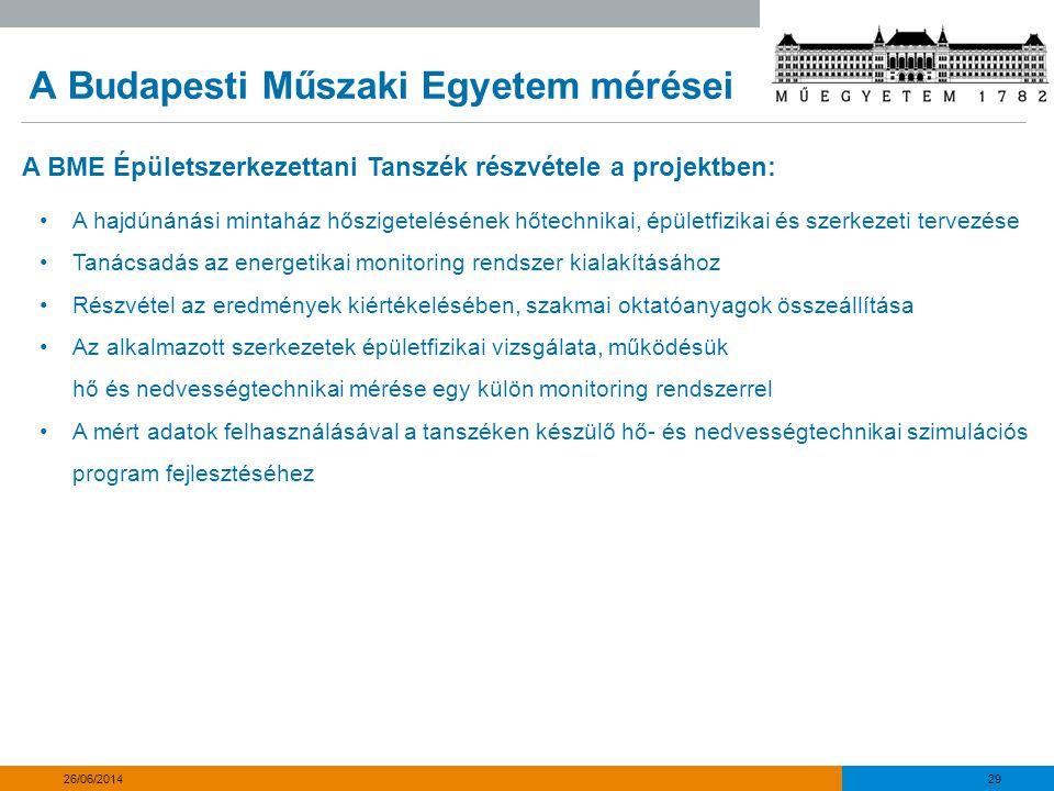 A Budapesti Műszaki Egyetem mérései 30 26/06/2014 01 – Megoldandó problémák Egy utólagos hőszigetelésnél mindig több a kötöttség mint egy új építésű épületnél: •Geometria •Meglévő szerkezetek (pl.