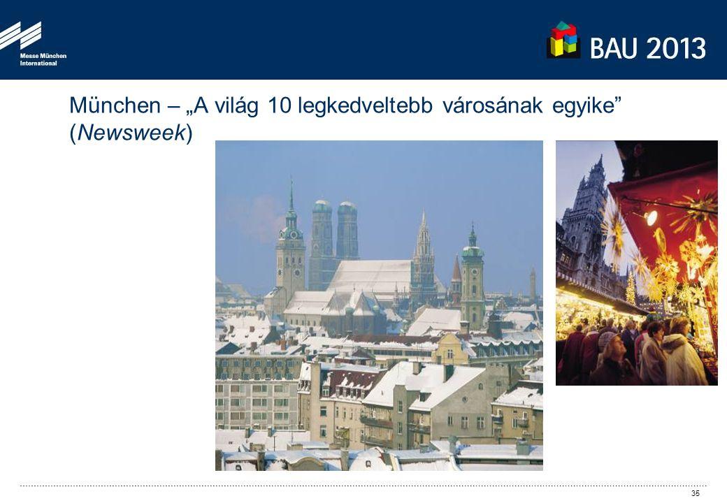 """München – """"A világ 10 legkedveltebb városának egyike (Newsweek) 35"""
