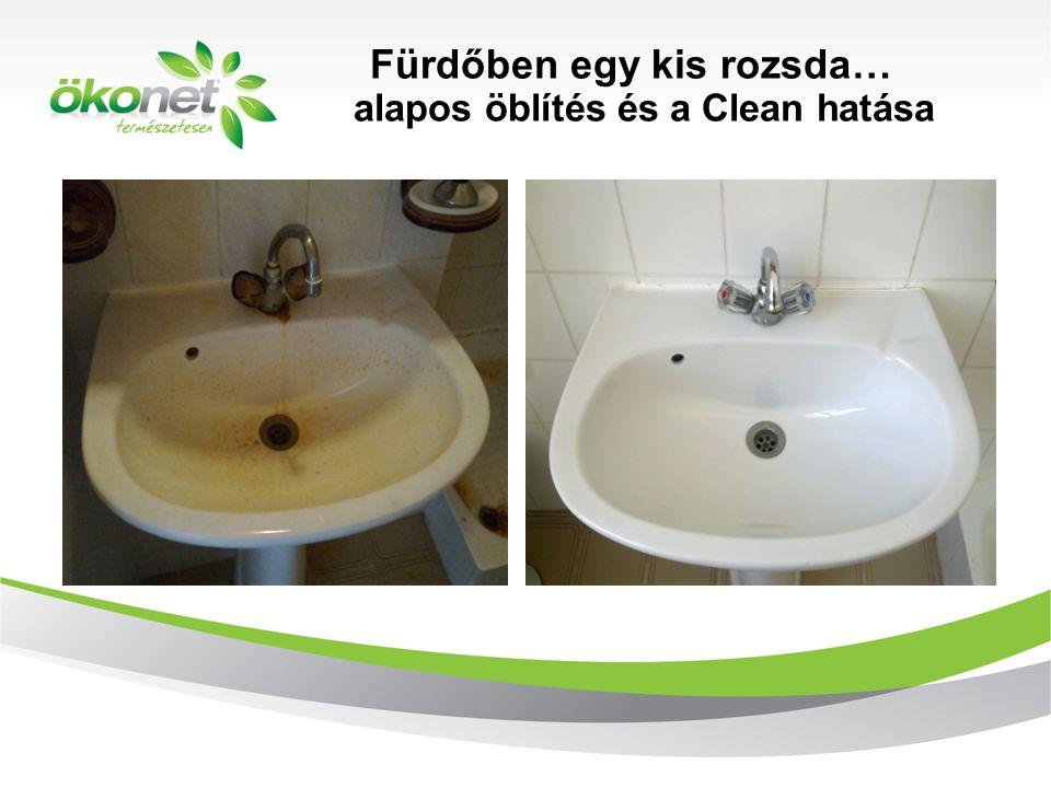 Fürdőben egy kis rozsda… alapos öblítés és a Clean hatása d 2010. 9. 8.