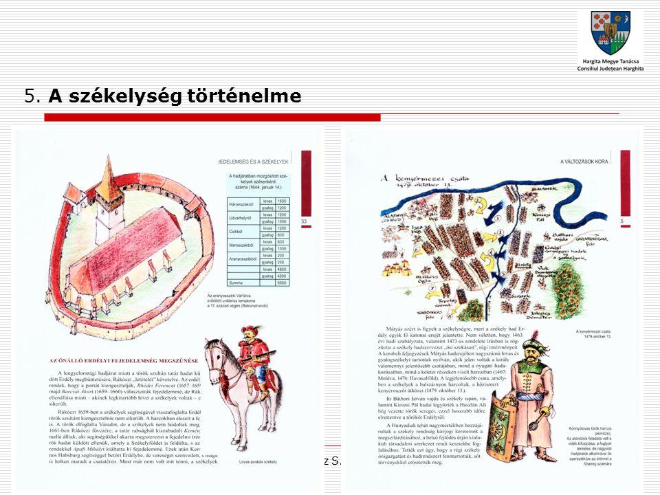 Ferencz S. Alpár 5. A székelység történelme