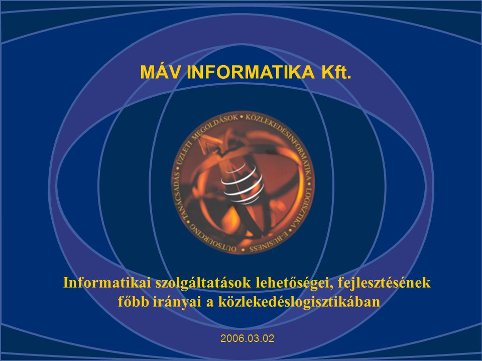 MÁV INFORMATIKA Kft.
