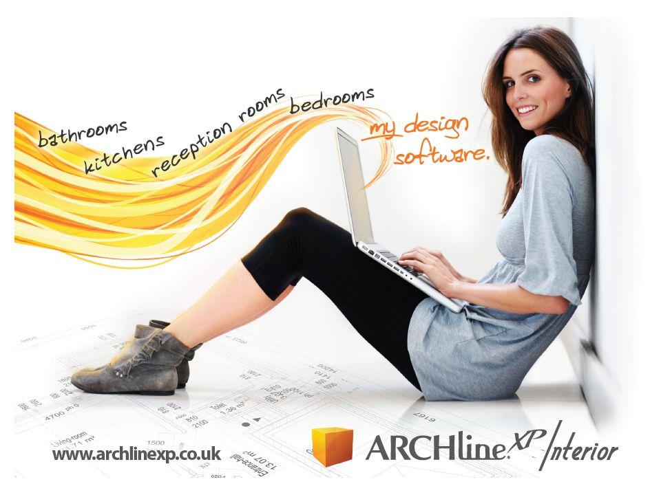 Mi az ARCHLine.XP INTERIOR.Az ARCHLine.XP Interior egy teljes értékű belsőépítészeti CAD szoftver.
