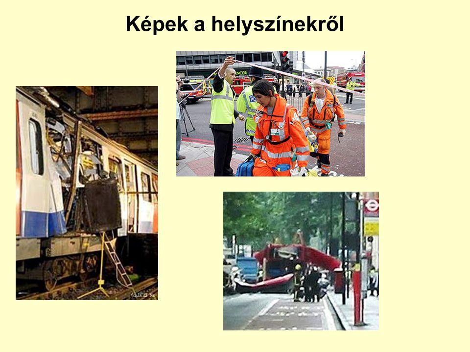 9:17 9:47 8:56 8:51 Londoni robbantásos merényletek 2005. július 7.