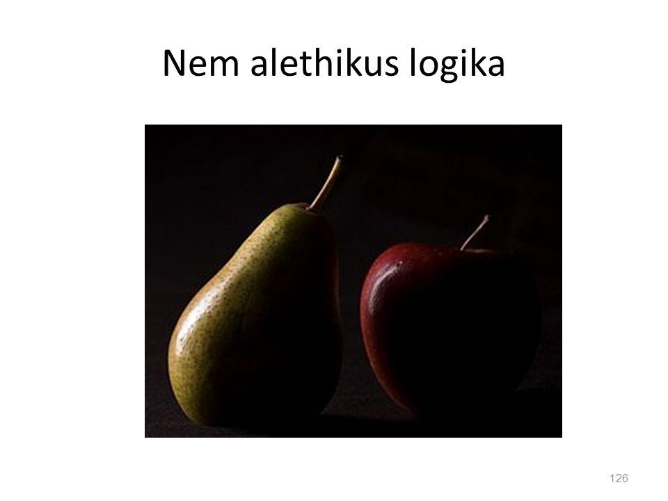 Nem alethikus logika 126