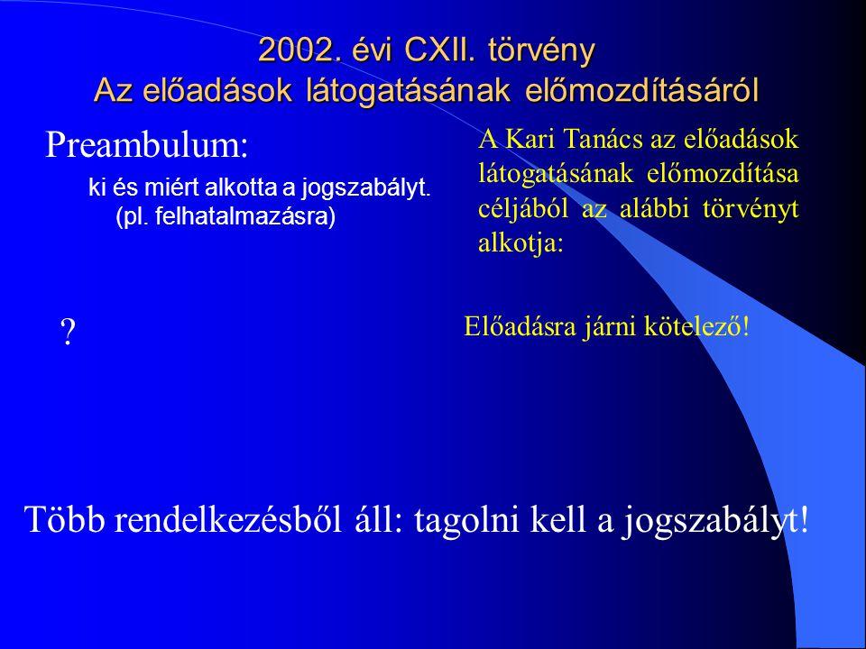 2002.évi CXII.