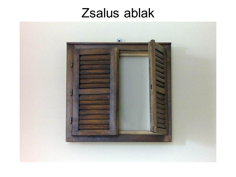 Zsalus ablak