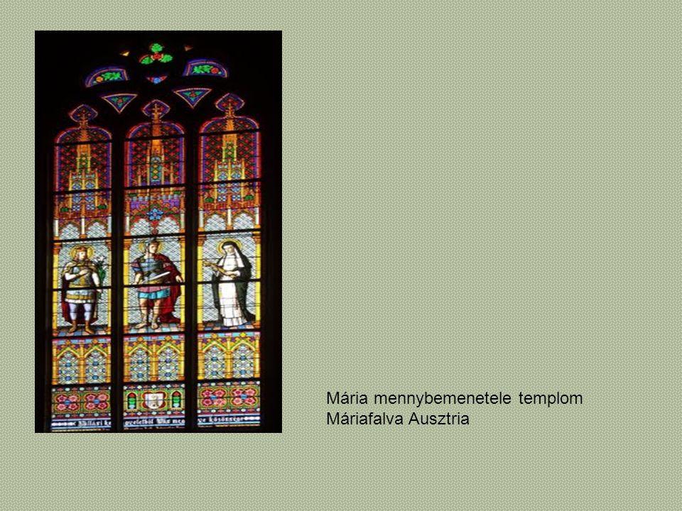 Mária mennybemenetele templom Máriafalva Ausztria