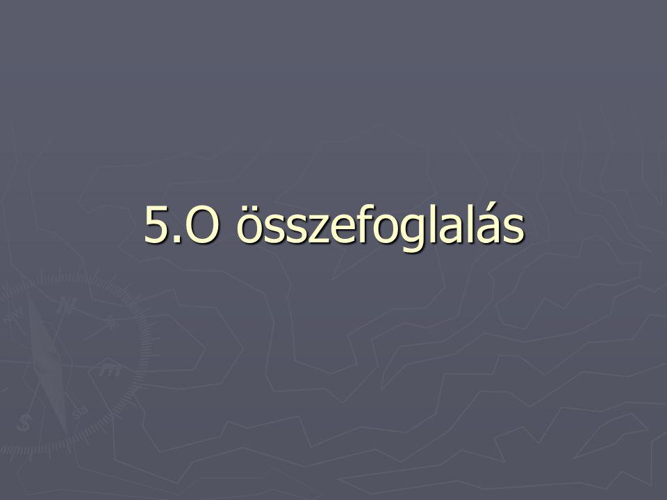 5.O összefoglalás