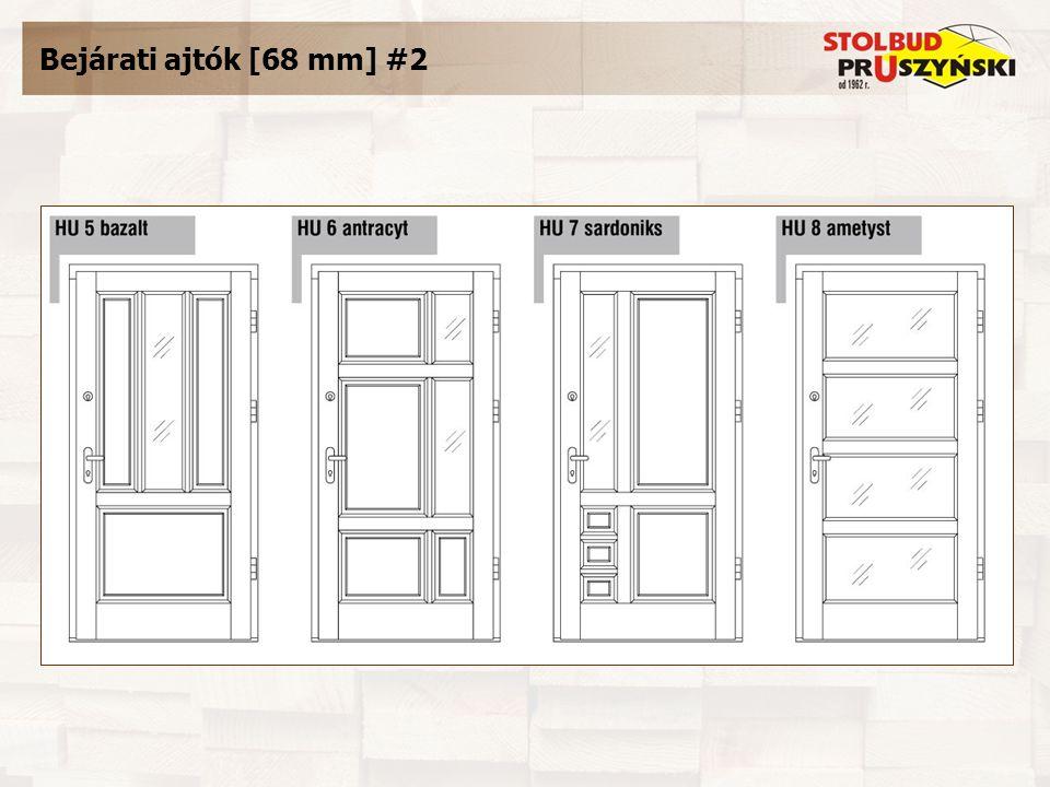 Bejárati ajtók [68 mm] #2