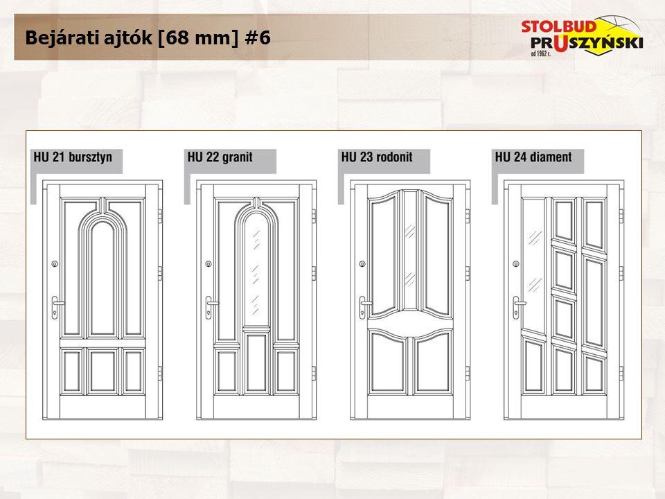 Bejárati ajtók [68 mm] #6