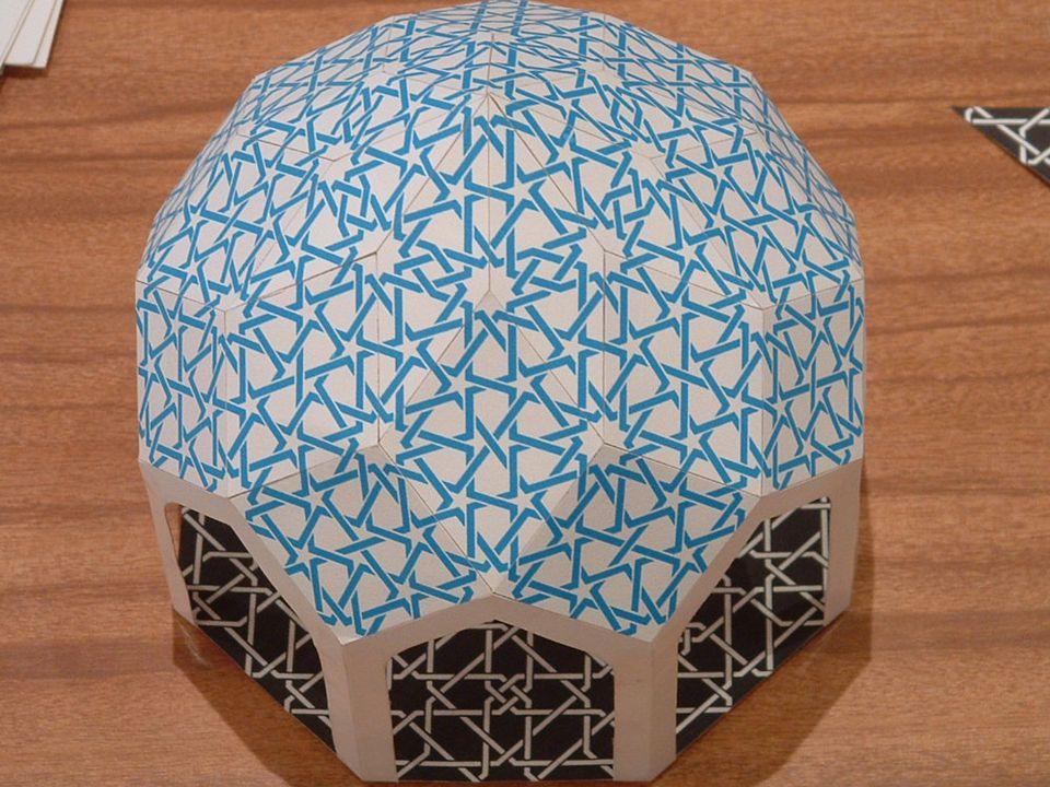 Sokszög pályázat Iszlám padlócsempék