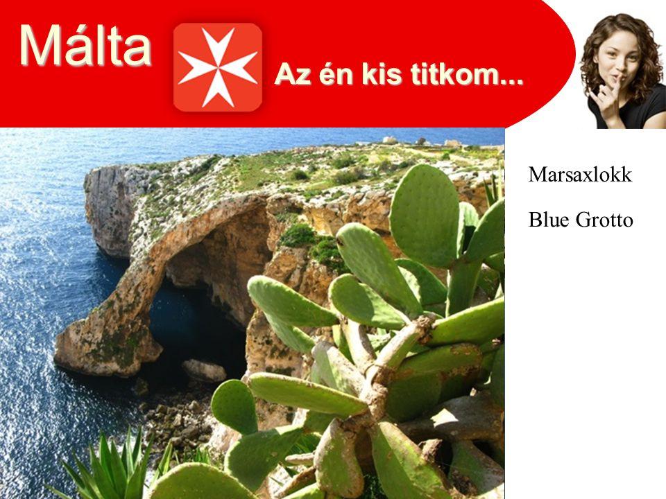 Málta Marsaxlokk Blue Grotto