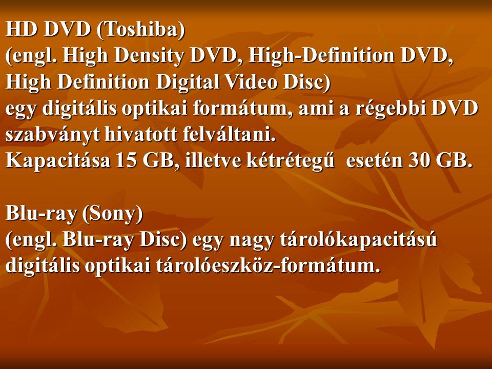 HD DVD (Toshiba) (engl.