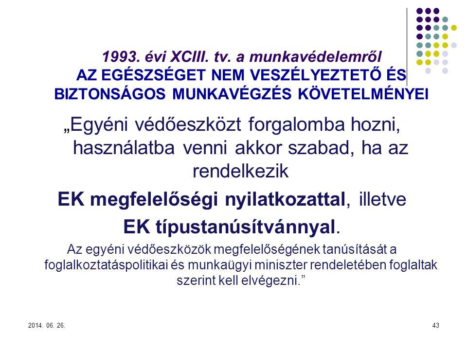 2014.06. 26.43 1993. évi XCIII. tv.