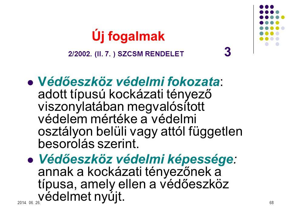 2014.06. 26.68 Új fogalmak 2/2002. (II. 7.