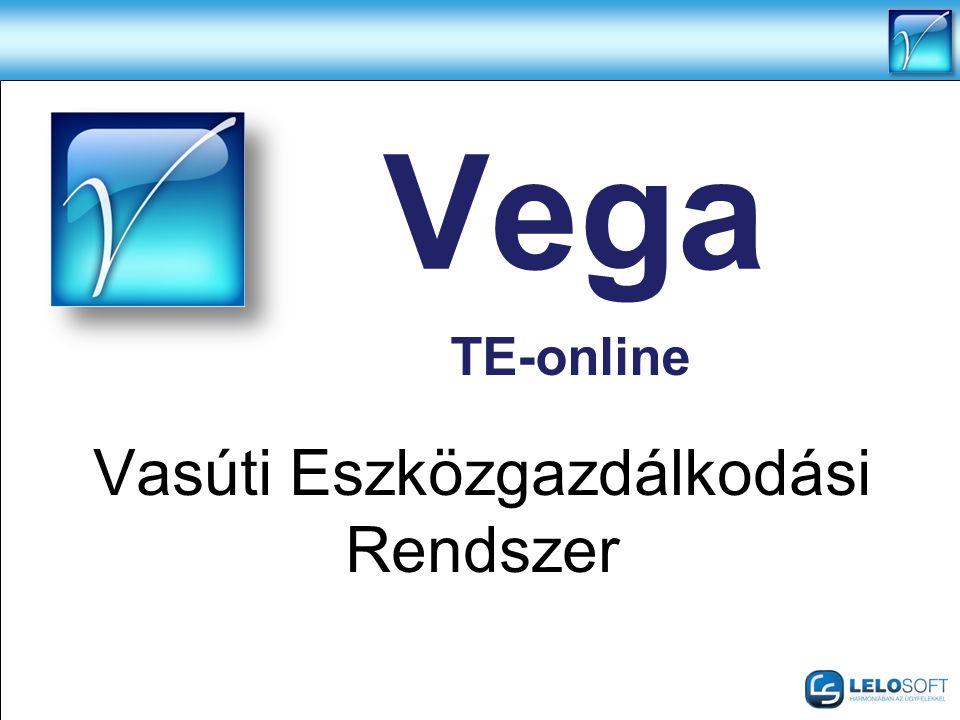 Vega Vasúti Eszközgazdálkodási Rendszer TE-online