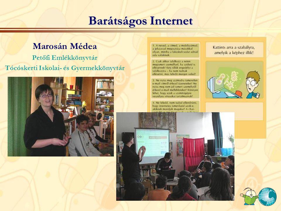 Az Internet sötét oldala Fazekas Ildikó és Korpás István előadásai az Internet veszélyeiről