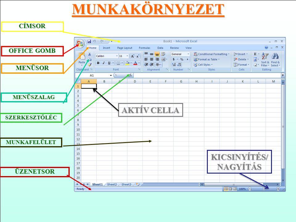 Az Excel Excel elindítása 3.