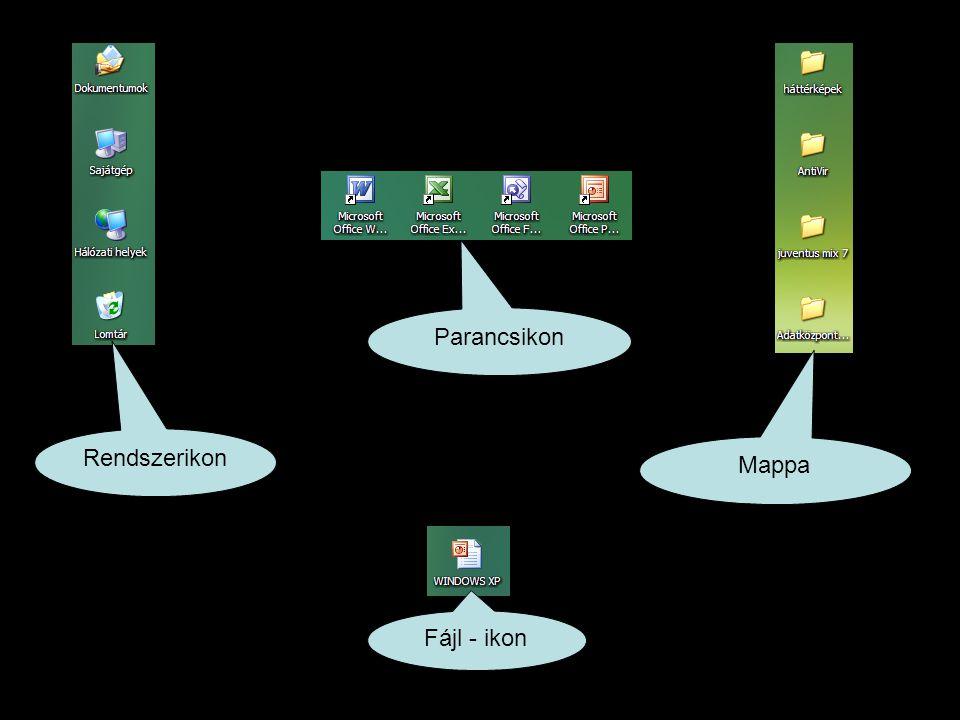 Rendszerikon Parancsikon Mappa Fájl - ikon