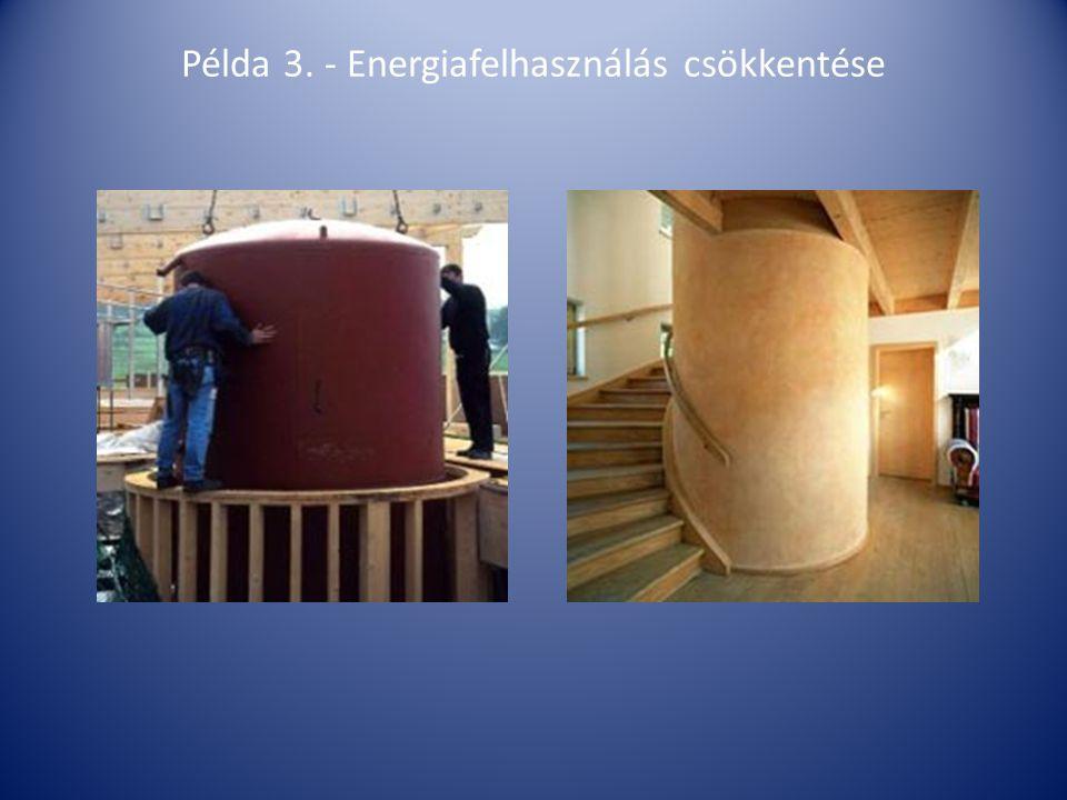 Példa 3. - Energiafelhasználás csökkentése