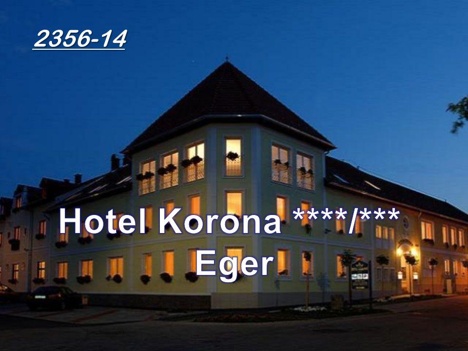•Eger els ő magánszállodája a történelmi belváros legcsendesebb részén zöld övezetben található.