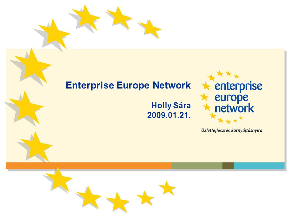 Enterprise Europe Network Holly Sára