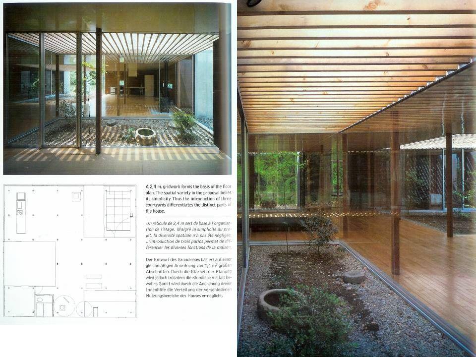 21 IND house, Tokyo, Japán Építész: Maki & Associates