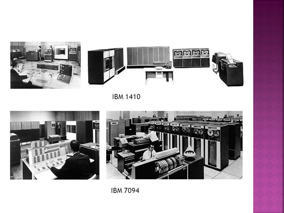 IBM 7094 IBM 1410