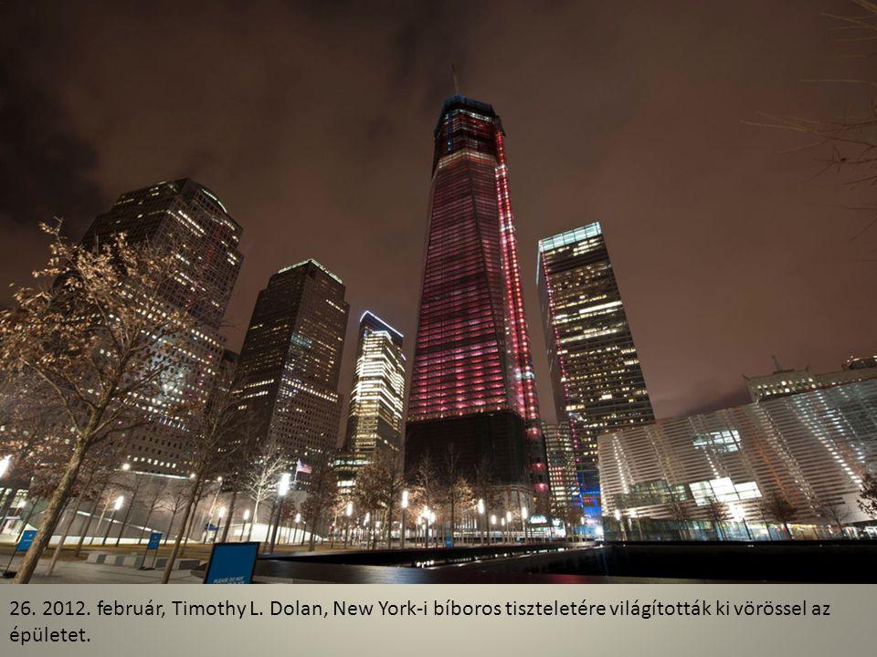 25. A kilátás egészen egyedülálló lesz a közel 4 milliárd dollárba kerülő épületből.