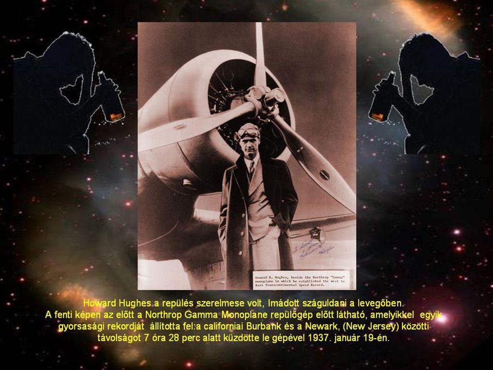 Howard Hughes gyors fizikai hanyatlását mintha az elmebaj jelei is kísérnék.