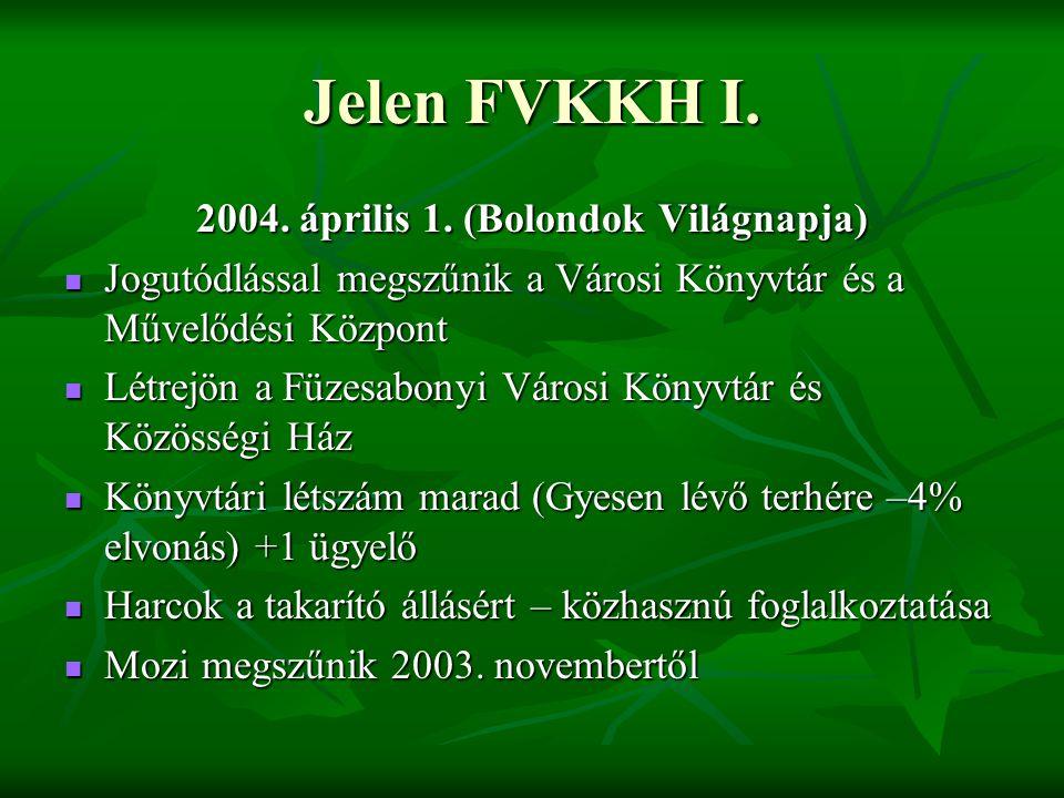 Jelen FVKKH I.2004. április 1.