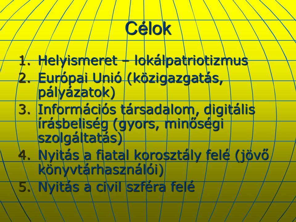 Civil társadalom  FKBT rendezvényei (együttműködés Zeneiskolával, Nyugdíjasok Egyesületével, Nőklubbal, Remenyik Gimnáziummal)  2003.