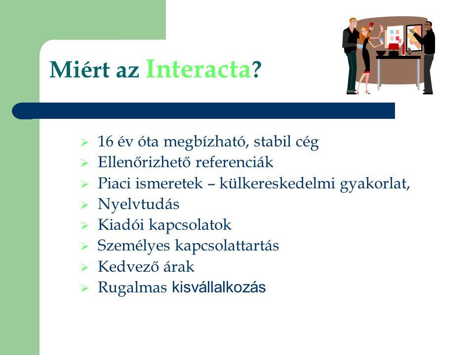 Miért az Interacta .