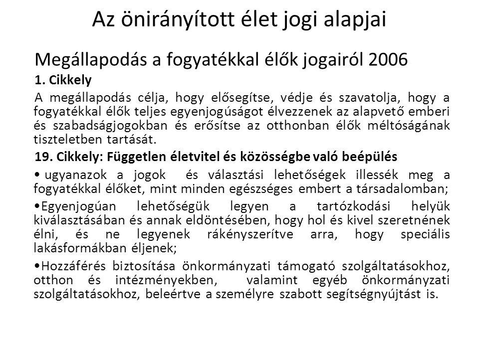 Megállapodás a fogyatékkal élők jogairól 2006 1.