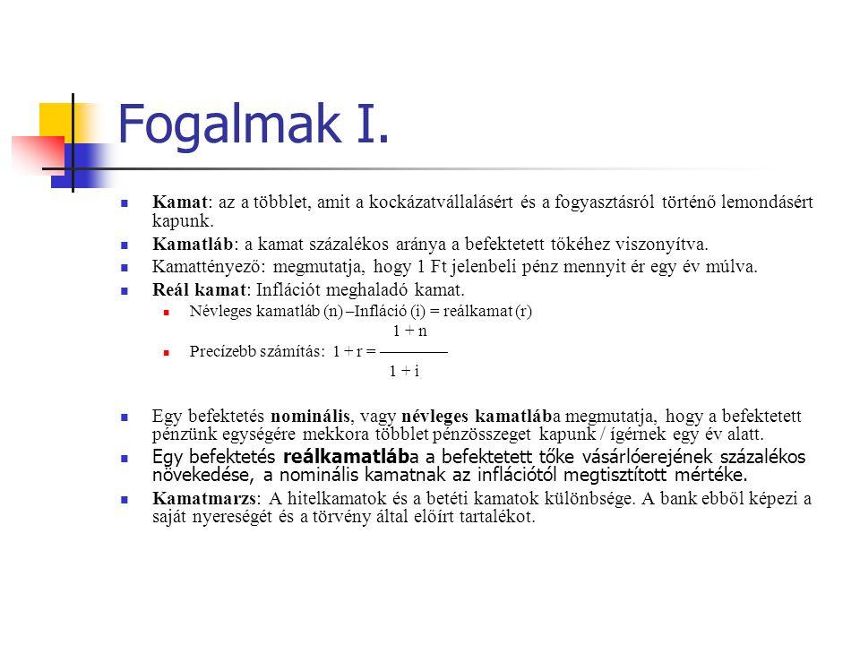 3.példa megoldás  PV(1):  PV(2) 0.1.2.3.4.5.