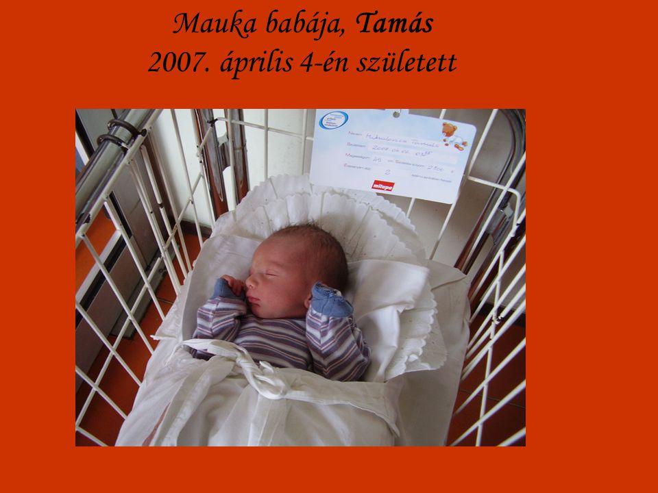 Mauka babája, Tamás 2007. április 4-én született