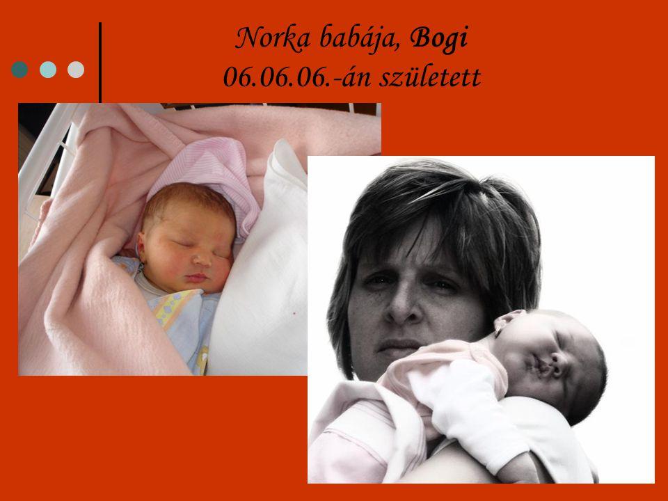 Norka babája, Bogi 06.06.06.-án született