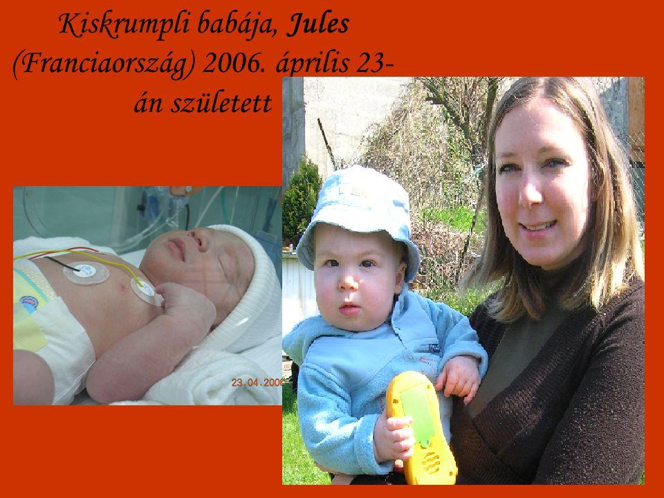 Kiskrumpli babája, Jules (Franciaország) 2006. április 23- án született