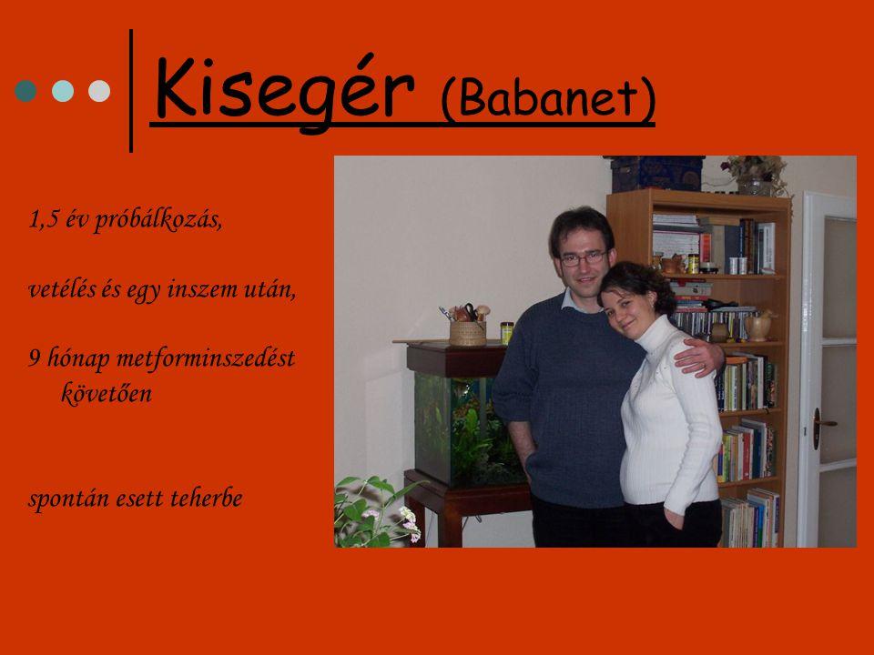 K.ir babája, Tibike 2007. április 18-án született
