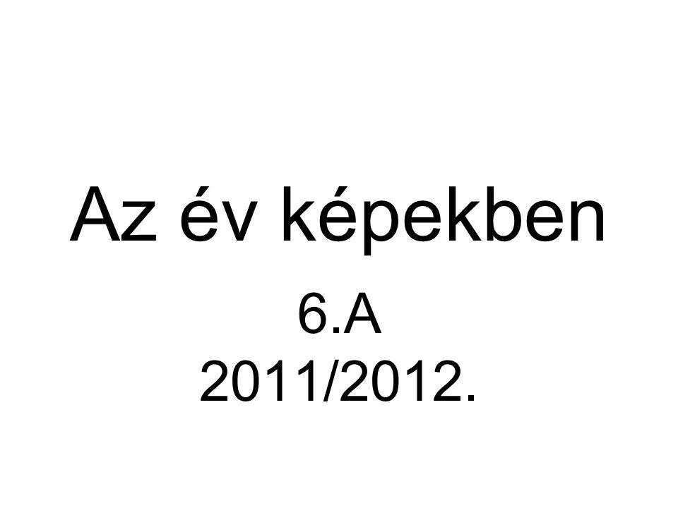 Az év képekben 6.A 2011/2012.