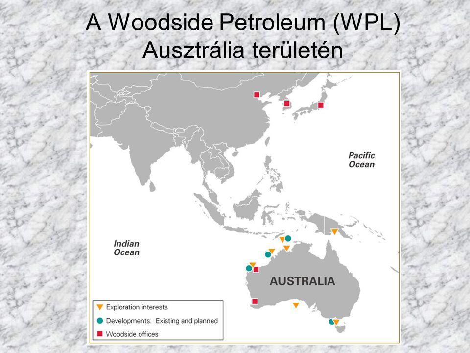 A Woodside Petroleum (WPL) Ausztrália területén
