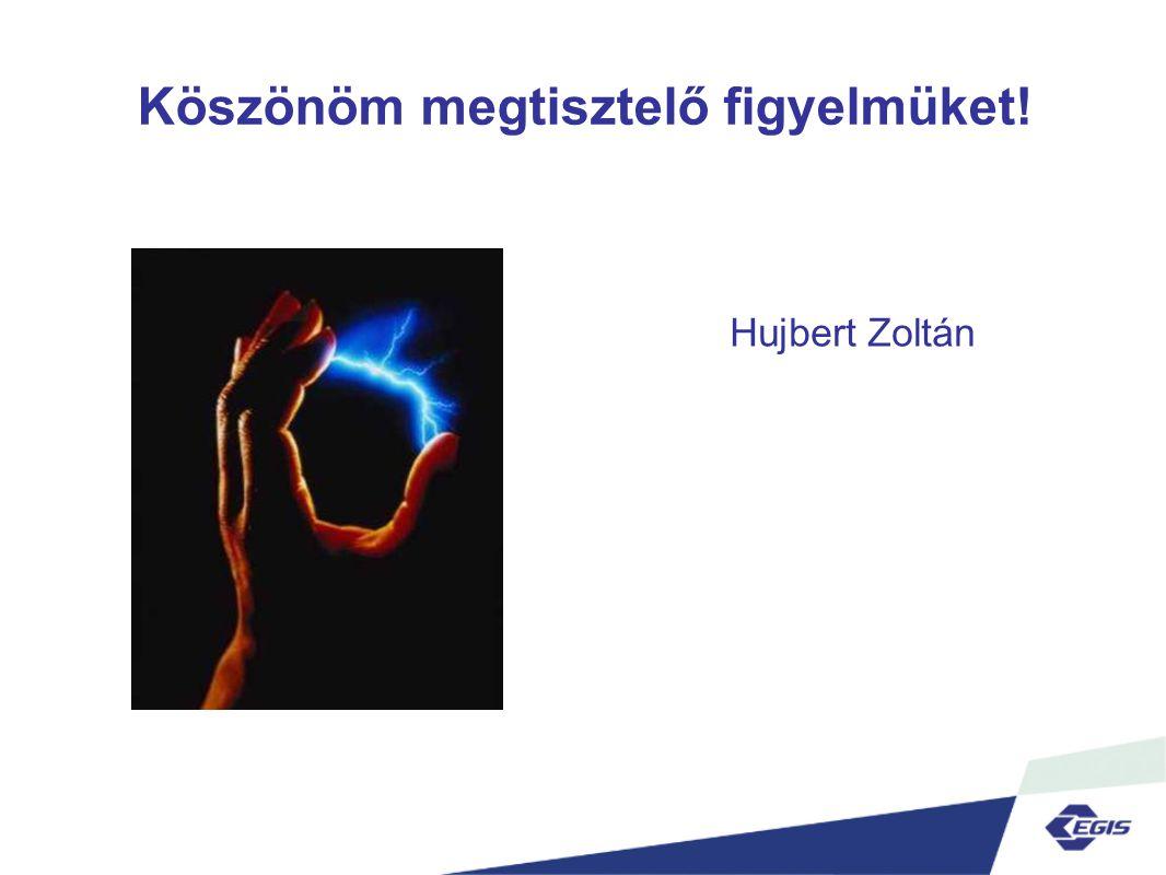 Köszönöm megtisztelő figyelmüket! Hujbert Zoltán