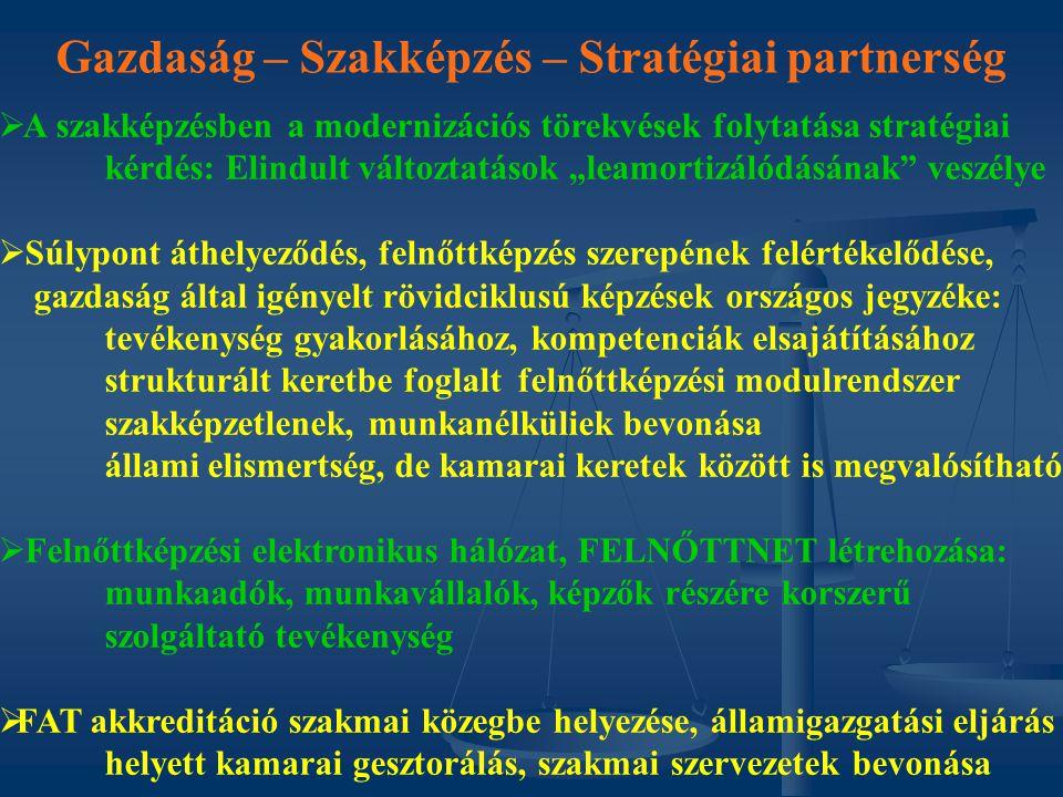 """Gazdaság – Szakképzés – Stratégiai partnerség   A szakképzésben a modernizációs törekvések folytatása stratégiai kérdés: Elindult változtatások """"lea"""